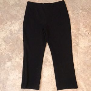 Chico's Black Pull On Black Pants